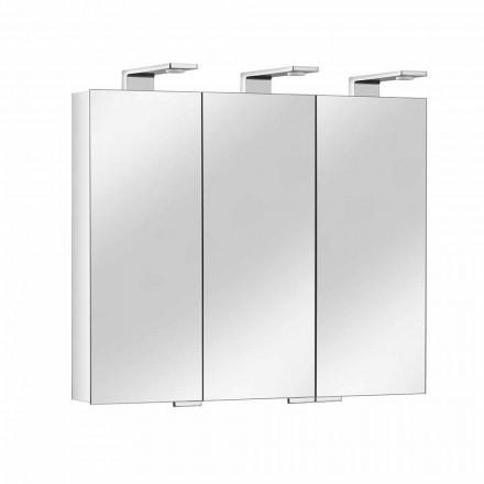 Contenedor Espejo con 3 Puertas de Cristal y 3 Luces LED, Precious - Maxi