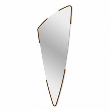 Espejo decorativo de pared de diseño moderno en 4 colores Made in Italy - Spino