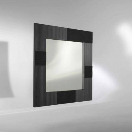espejo de pared de diseño moderno con marco decorado Thalia