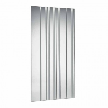 Espejo de Pared Rectangular de Diseño Moderno Hecho en Italia - Coriandolo