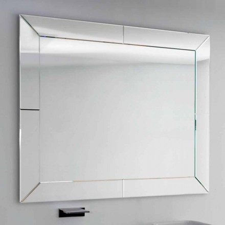 Espejo con destino borde planta moderna, H120 x L120CM, Dédalo