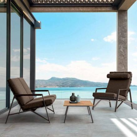 Composición de la sala de estar Talenti Cottage hecha en Italia
