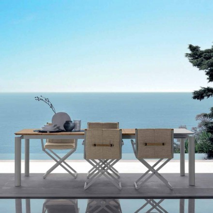 Talenti Domino extensible mesa de jardín 200 / 260cm made in Italy