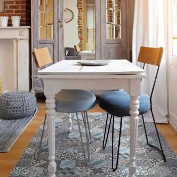 Alfombra de cocina moderna de poliéster y PVC de colores - Belita