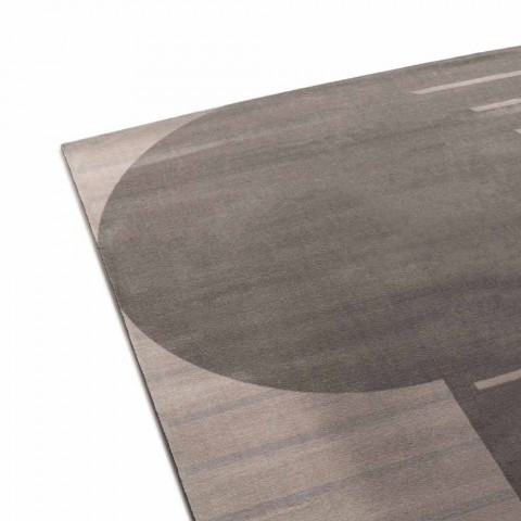 Alfombra de salón de calidad en poliamida y poliéster Made in Italy - Madama