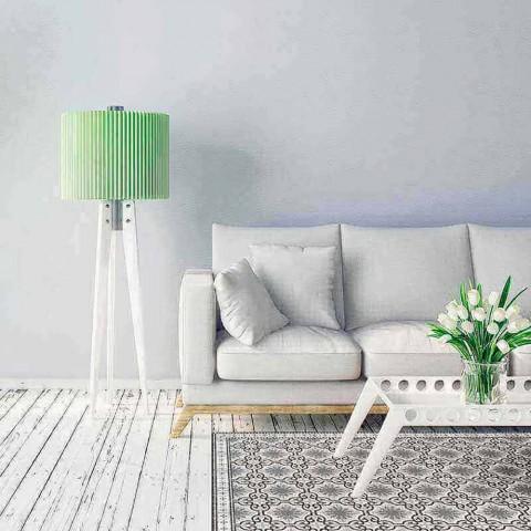Alfombra de Salón Rectangular de Diseño en PVC y Poliéster - Coria