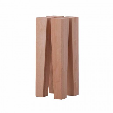 Mesa de centro baja de diseño moderno en madera de haya - Roncone