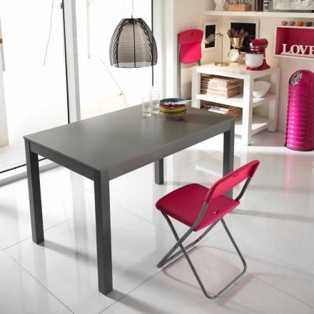 Mesa extensible de madera de haya made in Italy modelo Tito