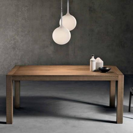 Moderna mesa de fresno extensible hecha en Italia Parre