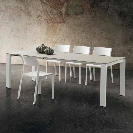Mesa de cocina extensible hasta 240 cm en Precious Hpl Made in Italy - Jupiter