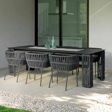 Mesa de jardín extensible hasta 300 cm Cliff Talenti de Palomba