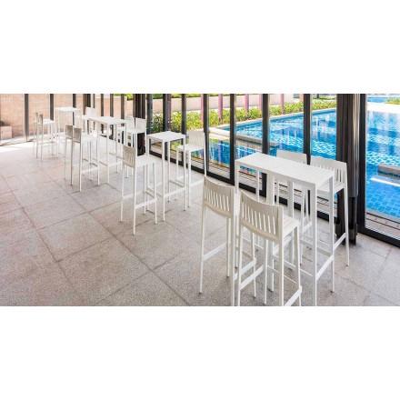 Mesa de jardín Spritz by Vondom en polipropileno con fibra de vidrio