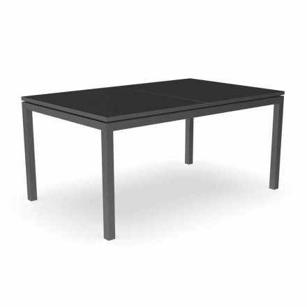 Mesa de comedor extensible de jardín 280 cm en aluminio - Adam by Talenti