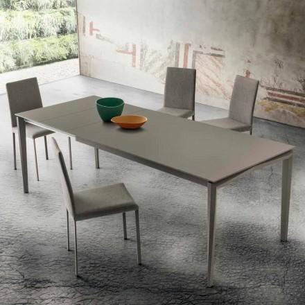 Mesa de comedor extensible hasta 240 cm en Fenix Made in Italy - Fantástica