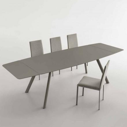 Mesa de comedor extensible hasta 280 cm en Fenix Made in Italy - Lingotto