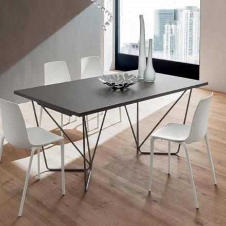 Mesa de comedor extensible hasta 280 cm en Fenix Made in Italy - Eolo