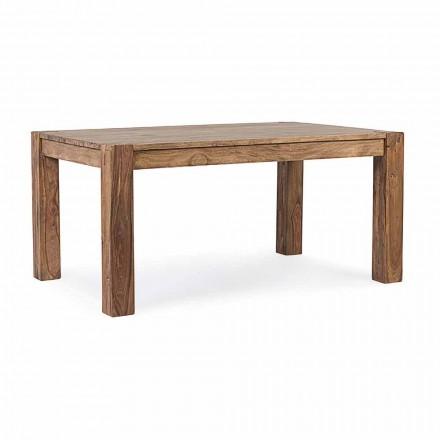 Homemotion - Mesa de comedor extensible Wonder Wood de hasta 300 cm