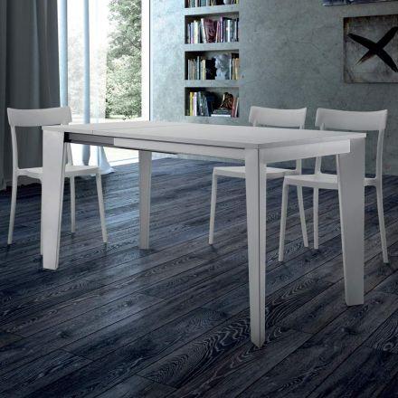 Mesa de Comedor Extensible hasta 310 cm en Melamina Hecho en Italia - Settanta