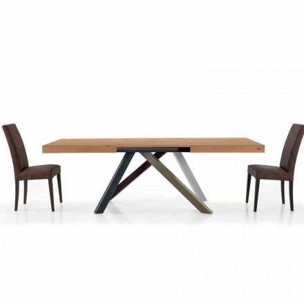 Mesa de Comedor Extensible hasta 450 cm en Laminado Hecho en Italia - Salentino