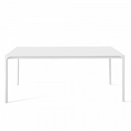 Mesa de comedor extensible hasta 265 cm de diseño Made in Italy - Bonaldo Zen