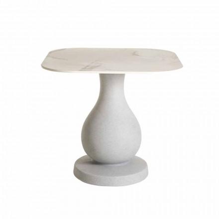 Mesa de comedor cuadrada, superficie en HPL - Ottocento