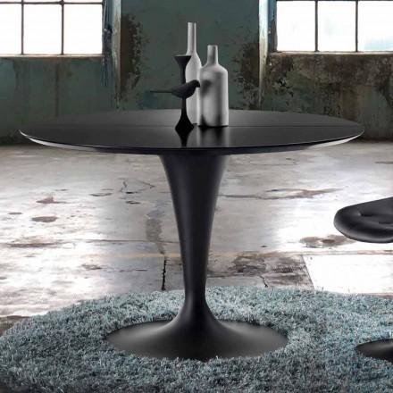 Mesa extensible redonda de diseño moderno - Borgia
