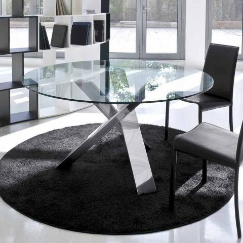 mesa de noche lámpara vivienda latón pulido Mesa moderna sustancia lámpara paraguas blanco