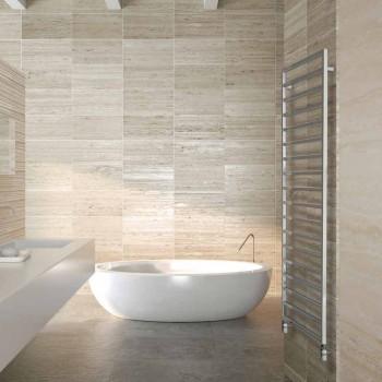 TERMOARREDO hidráulica baño de diseño, cromo, Invierno Scirocco H