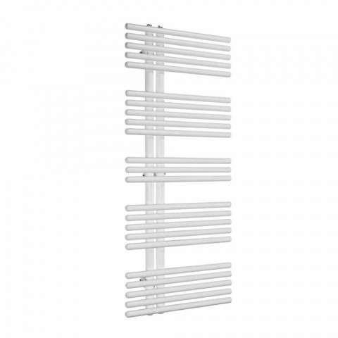 Calentador de toallas de pared de diseño moderno hasta 690 W - Pavo real