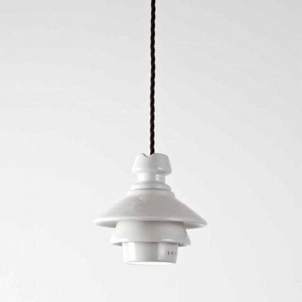 Toscot Battersea lámpara suspendida con plato de terracota