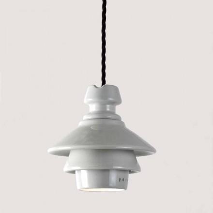 Toscot Battersea lámpara suspendida hecha a mano en cerámica