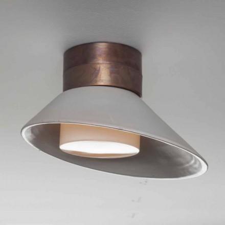 TOSCOT Chapeau! Lámpara de pared / techo hecha en la Toscana