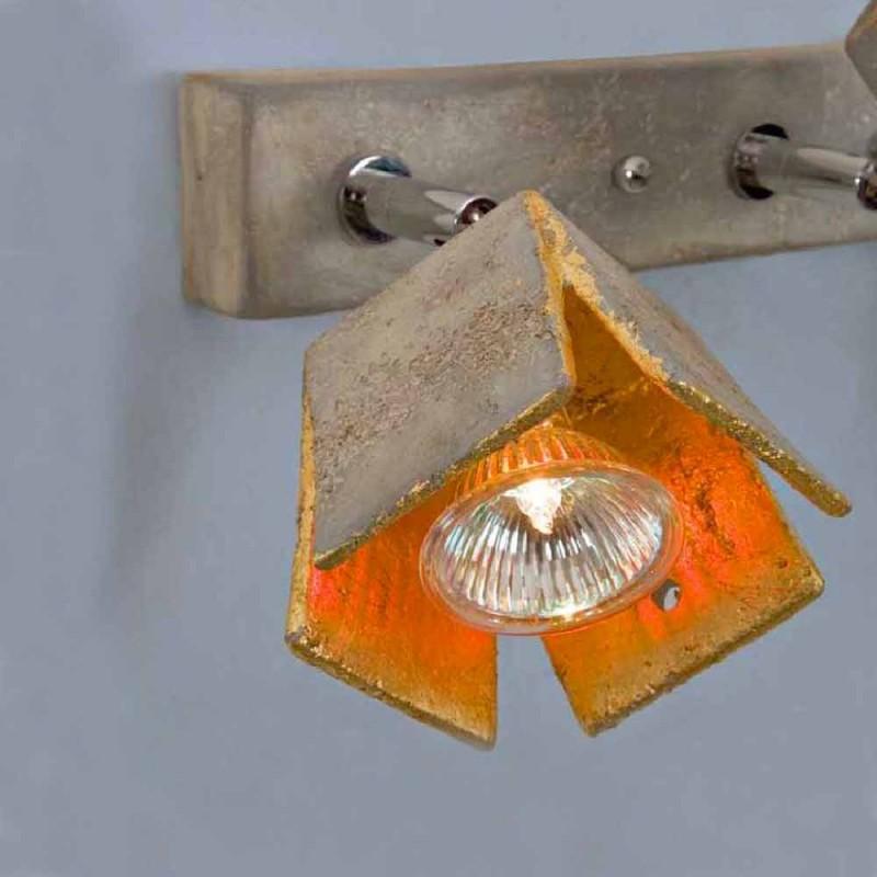 TOSCOT Plate reglette 2 luces direccionales hicieron en Toscana