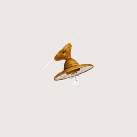 Toscot Settimello aplique angular fabricado en Toscana