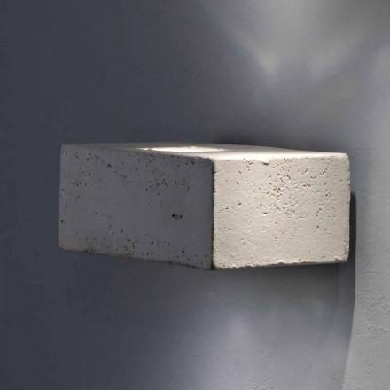 Toscot Smith aplique LED de exterior de terracota hecho en Toscana