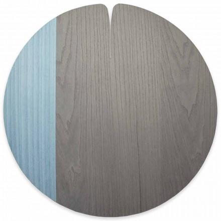 Mantel individual moderno de madera de estilo americano hecho en Italia - Stan