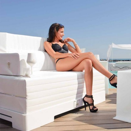 Sillón flotante diseño con doble asiento Trona Magnum Luxury