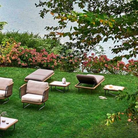 Varaschin Babylon jardín o cama interior, diseño moderno
