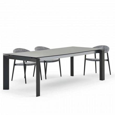tabla Varaschin Dolmen exterior moderno diseño de 240x100 cm