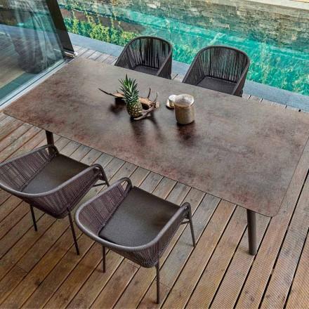 Varaschin Enlace mesa de comedor fija desde externas o internas H 65 cm