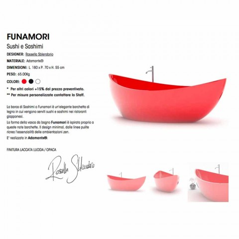 Muebles de baño en Adamantx® Funamori Made in Italy
