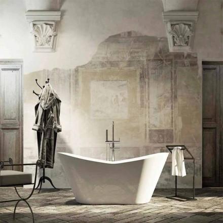Bañera independiente de Ragusa, diseño moderno, hecha en Italia
