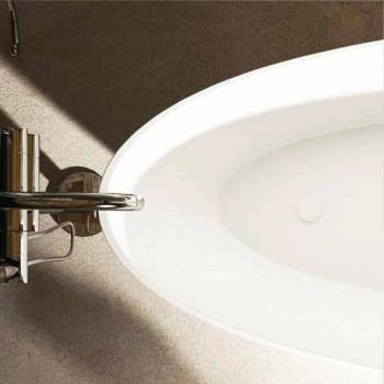Tina de baño ovalada de diseño independiente hecha en Italia Albenga