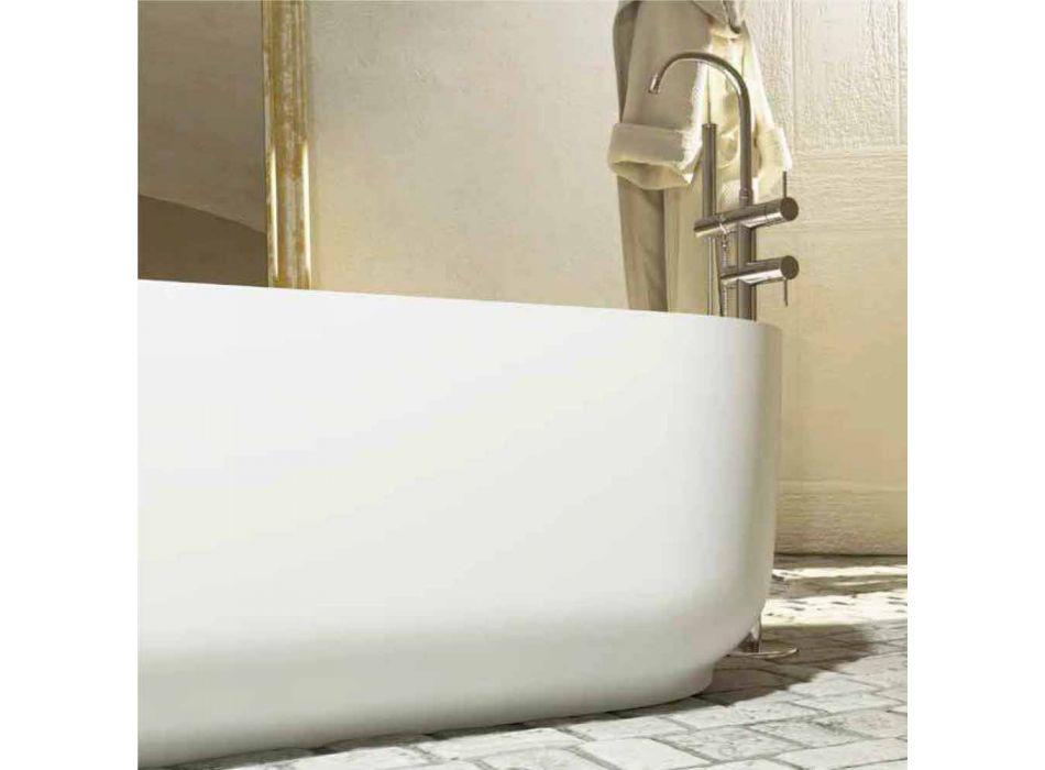 Bañera de diseño moderno independiente producida en Italia Zollino