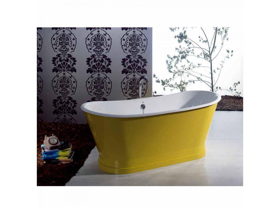 Bañera independiente de hierro de color diseño moderno Betty