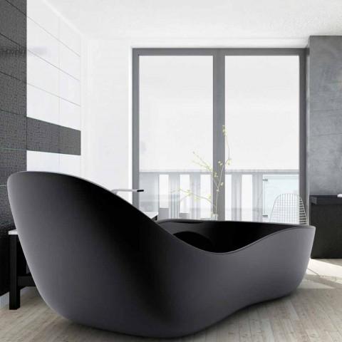 Bañera independiente lacada, diseño moderno, Wave