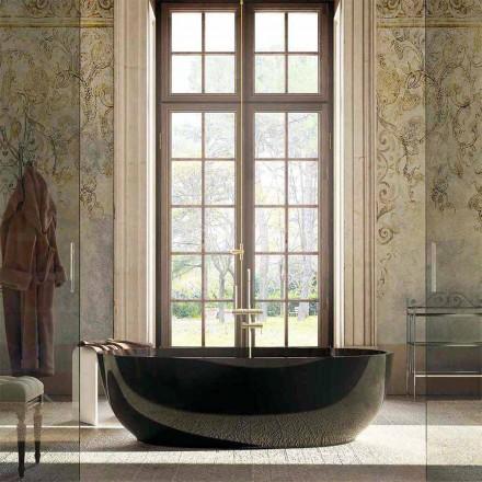 Bañera de diseño independiente Fabriano, fabricada en Italia.