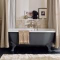 Bañera independiente vintage con pies, en hierro fundido - Nausica