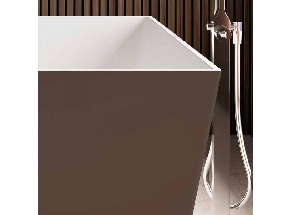 Bañera independiente, exterior brillante en dos tonos o mate - Filo