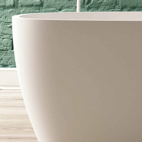 Bañera Independiente, Diseño Superficie Sólida Brillante / Mate - Velo
